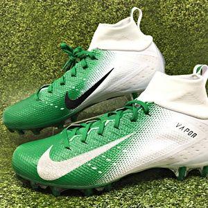 Nike Vapor Untouchable Pro 3 Football Green Sz 12